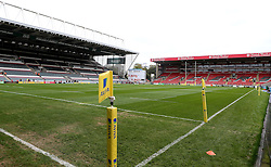 A general view of Welford Road, home of Leicester Tigers - Mandatory by-line: Robbie Stephenson/JMP - 08/10/2016 - RUGBY - Welford Road Stadium - Leicester, England - Leicester Tigers v Worcester Warriors - Aviva Premiership