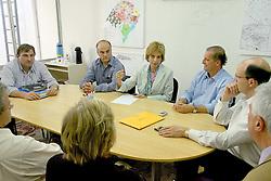 A governadora eleita do Rio Grande do Sul, Yeda Crusius durante reunião com integrantes do PFL que reafirmaram apoio ao seu governo. FOTO: Jefferson Bernardes/Preview.com