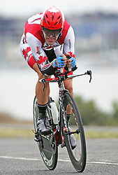 (Geelong, Australia---30 September 2010) Svein TUFT of Canada racing to 26th place in the Elite Men's Time Trial race at the 2010 UCI Road World Championships [2010 Copyright Sean Burges / Mundo Sport Images -- www.mundosportimages.com]