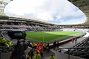 Hull City ground before the Premier League match between Hull City and Stoke City at the KCOM Stadium, Kingston upon Hull, England on 22 October 2016. Photo by Ian Lyall.
