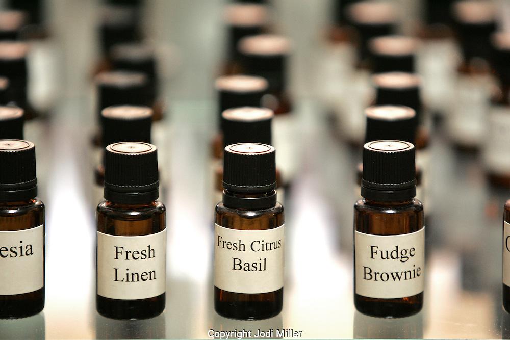 Scented oils at Honey Grove Botanicals, Gahanna.(Jodi Miller/Alive)