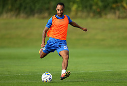 Byron Moore of Bristol Rovers takes part in training - Mandatory by-line: Robbie Stephenson/JMP - 15/09/2016 - FOOTBALL - The Lawns Training Ground - Bristol, England - Bristol Rovers Training