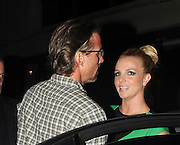 16.SEPT.2011 LONDON<br /> <br /> BRITNEY SPEARS AND BOYFRIEND JASON TRAWICK ARRIVING AT THE SANCTUM HOTEL IN SOHO FOR HER EUROPEAN TOUR LAUNCH PARTY, BEFORE LEAVING AND HEADING BACK TO THEIR LONDON HOTEL.<br /> <br /> BYLINE: EDBIMAGEARCHIVE.COM<br /> <br /> *THIS IMAGE IS STRICTLY FOR UK NEWSPAPERS AND MAGAZINES ONLY*<br /> *FOR WORLD WIDE SALES AND WEB USE PLEASE CONTACT EDBIMAGEARCHIVE - 0208 954 5968*