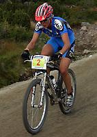 Sykkel , 20 August 2005 , Birkebeinerrittet ,<br /> UCI Mountain Bike Marathon , World Championships ,<br /> Lillehammer - Norway ,<br /> <br /> Paola Pezzo , ITA