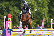 Westmur Quality ridden by Eilidh-Jane Costelloe in the Equi-Trek CCI-4* Show Jumping during the Bramham International Horse Trials 2019 at Bramham Park, Bramham, United Kingdom on 9 June 2019.