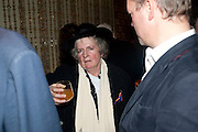 MAGGIE HAMBLING, Launch of Nicky Haslam's book Redeeming Features. Aqua Nueva. 5th floor. 240 Regent St. London W1.  5 November 2009.  *** Local Caption *** -DO NOT ARCHIVE-© Copyright Photograph by Dafydd Jones. 248 Clapham Rd. London SW9 0PZ. Tel 0207 820 0771. www.dafjones.com.<br /> MAGGIE HAMBLING, Launch of Nicky Haslam's book Redeeming Features. Aqua Nueva. 5th floor. 240 Regent St. London W1.  5 November 2009.