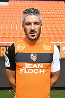 Fabien Lemoine during photoshooting of FC Lorient for new season 2017/2018 on September 12, 2017 in Lorient, France. (Photo by Philippe Le Brech/Icon Sport)