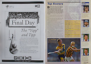 All Ireland Senior Hurling Championship - Final, .14.09.1997, 09.14.1997, 14th September 1997, .14091997AISHCF,.Senior Clare v Tipperary .Tipperary 2-16, Wexford 0-15,.Minor Clare v Galway,