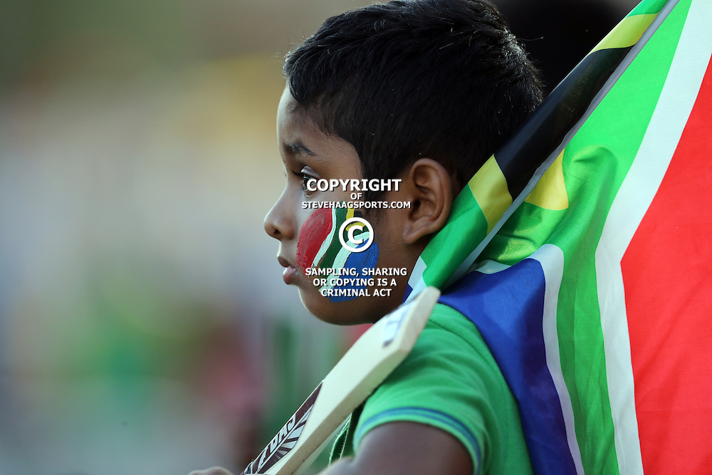 A young fan during the 2nd ODI Momentum One-Day International (ODI) series South African and Sri Lanka at Kingsmead, Durban, South Africa.1st February 2017 - (Photo by Steve Haag)
