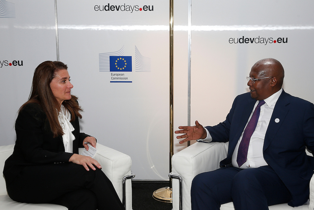 20150603- Brussels - Belgium - 03 June2015 - European Development Days - EDD  -  Melida Gates BMGF and Sam Kutesa © EU/UE