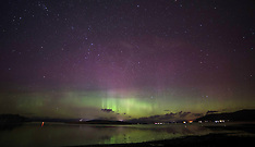 Northen Lights | Loch Linnhe | 1 March 2017