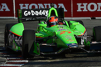 James Hinchcliffe, Honda Indy Toronto, Streets of Toronto, Toronto, Ontario Canada 07/08/12