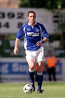 David Weir (Everton) Exeter City v Everton, Pre-Season Friendly, 5/08/2000. Credit: Colorsport / Matthew Impey