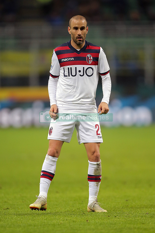 February 3, 2019 - Milan, Milan, Italy - Rodrigo Palacio #24 of Bologna FC during the serie A match between FC Internazionale and Bologna FC at Stadio Giuseppe Meazza on February 3, 2019 in Milan, Italy. (Credit Image: © Giuseppe Cottini/NurPhoto via ZUMA Press)