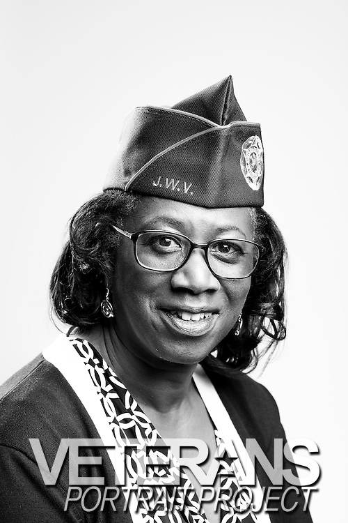 Sheila C. Berg<br /> Air Force<br /> E-8<br /> Personel<br /> Jet Engine Mechanic<br /> 1980 - 2009<br /> Gulf War<br /> Desert Storm<br /> OIF<br /> <br /> Veterans Portrait Project<br /> Charleston, SC<br /> Jewish War Veterans