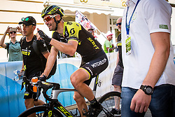 Luka Mezgec (SLO) of Mitchelton - Scott celebrates during 2nd Stage of 26th Tour of Slovenia 2019 cycling race between Maribor and Celje (146,3 km), on June 20, 2019 in Slovenia.. Photo by Matic Klansek Velej / Sportida