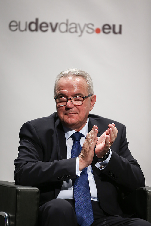 03 June 2015 - Belgium - Brussels - European Development Days - EDD - Food - Joining forces to make undernutrition history - Neven Mimica , EU Commissioner for International Cooperation and Development © European Union