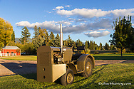 1945 Case VAIW Industrial Warehouse Tractor restored by Dan Tombrink of Columbia Falls, Montana