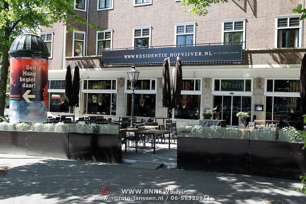NLD/Amsterdam/20100604 - Diverse terrassen van rstaurant zomerspecial, the Wine Bar in Den Haag