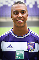 Anderlecht's Youri Tielemans pictured during the 2015-2016 season photo shoot of Belgian first league soccer team RSC Anderlecht, Tuesday 14 July 2015 in Brussels.