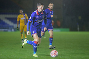 Oldham Athletic forward Daniel Philliskirk  during the The FA Cup first round match between Oldham Athletic and Mansfield Town at Boundary Park, Oldham, England on 17 November 2015. Photo by Simon Davies.