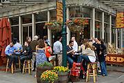 Bar at South Street Seaport, downtown, Manhattan,New York,U.S.A.