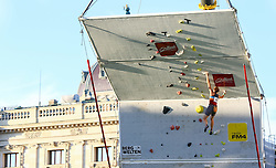31.07.2015, Mariahilfer Straße, Wien, AUT, ISFC, Free Solo Masters MAHÜ, Vorqualifikation, im Bild Elisabetz Todt // during the prequalification of the ISFC Free Solo Masters MAHÜ at the Mariahilfer Straße in Vienna, Austria on 2015/07/31. EXPA Pictures © 2015, PhotoCredit: EXPA/ Sebastian Pucher