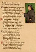Britain, UK, Geoffrey Chaucer, c. 1345-1401 AD