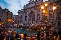 Italia - Roma - Fontana di Trevi em Roma - Foto: Gabriel Lordello/ Mosaico Imagem