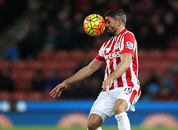 Jonathan Walters of Stoke City controls the ball - Mandatory byline: Robbie Stephenson/JMP - 13/01/2016 - FOOTBALL - Britannia Stadium - Stoke, England - Stoke City v Norwich City - Barclays Premier League