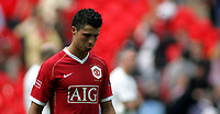 Photo: Paul Thomas.<br /> Chelsea v Manchester United. The FA Cup Final. 19/05/2007.<br /> <br /> Dejected Cristiano Ronaldo of Utd.