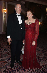 SIR DAVID & the HON.LADY ROCHE at a ball in aid of the English National Ballet featuring debutantes rom the forthcoming season held at The park Lane Hotel, Piccadilly, London on 16th March 2006.<br /><br />NON EXCLUSIVE - WORLD RIGHTS