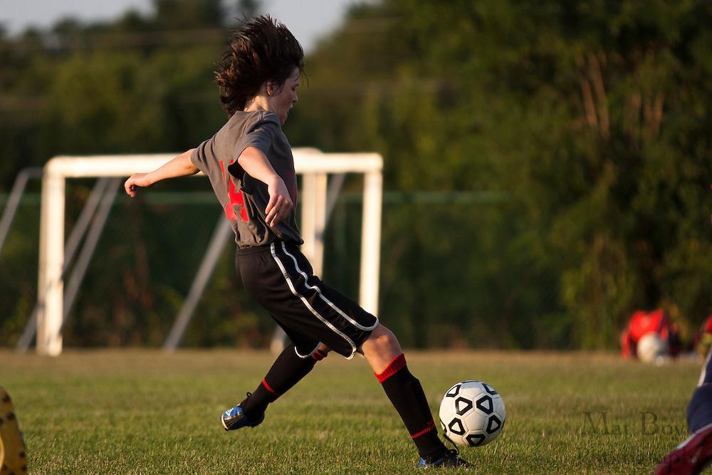 Gloucester County Summer Soccer League - Kingsway Regional High School D vs. Washington Township High School D at New Street Park in Glassboro, NJ on Wednesday July 11, 2012. (photo / Mat Boyle)