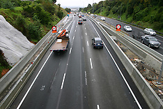 Auckland-Extra Southbound lane opens at Takanini