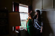 LOS ANGELES - MAY 31: Amber Carvaly and Caitlin Doughty created Undertaking LA to offer other more natural options for burials. They pose for a portrait in Los Angeles, California May 31, 2015.  (Photo by Kendrick Brinson)