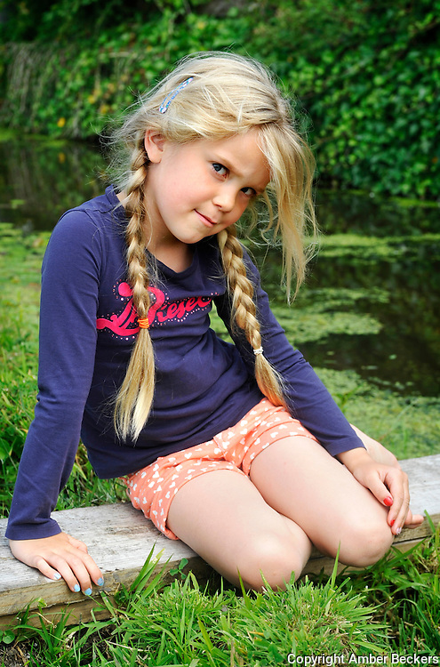 July 7, 2015 - 15:54<br /> The Netherlands, Durgerdam - Zo&euml;, 5 years and 8 months old