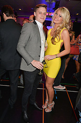 GEORGIA EDEN and ROBIN VARLEY at the West End Eurovision in aid of MAD - The Make A Difference Trust held at the Dominion Theatre, 268-269 Tottenham Court Road, London on 22nd May 2014