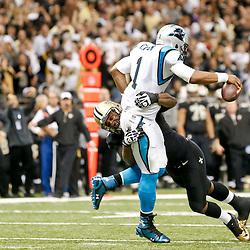 12-08-2013 Carolina Panthers at New Orleans Saints