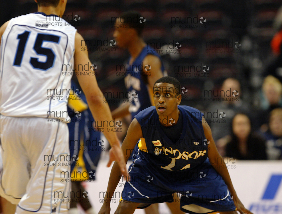 CIS Basketball Champioships-Ottawa, March 20, 2010, Windsor Lancers-John Woldu