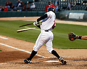 April 28, 2011:  during an MILB between the Norfolk Tides and the Indianapolis Indians at Victory Field in Indianapolis, Indiana. The Tides defeated the Indians 6-0.