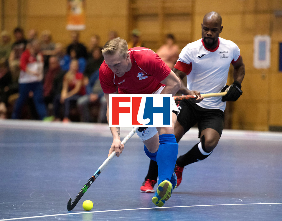 BERLIN - Indoor Hockey World Cup<br /> Czech Republic - Trinidad &amp; Tobago<br /> foto: KYNDL Jakub<br /> WORLDSPORTPICS COPYRIGHT FRANK UIJLENBROEK