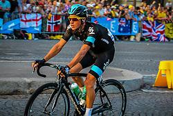 Paris, France - Tour de France :: Stage 21 - 21th July 2013 - Peter KENNAUGH (Sky Procycling) on Place de la Concorde