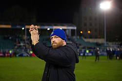 Henry Thomas of Bath Rugby acknowledges the crowd after the match - Mandatory byline: Patrick Khachfe/JMP - 07966 386802 - 08/03/2019 - RUGBY UNION - The Recreation Ground - Bath, England - Bath Rugby v Saracens - Gallagher Premiership Rugby