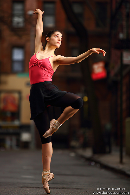 Dance As Art Streets of New York West Village Series with dancer Martina Fanelli