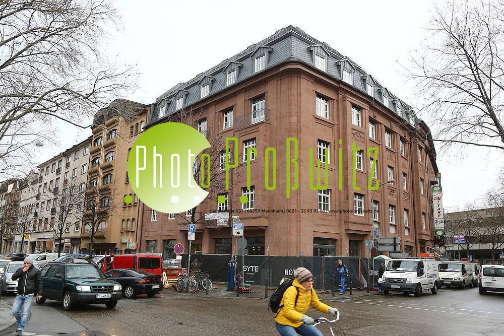 syte mannheim 290115 innenstadt am hauptbahnhof sanierung und umbau eines gebaudes zum hotel silvester