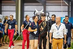 LECLEZIO Lambert (FRA), Poivre Vert<br /> Tryon - FEI World Equestrian Games™ 2018<br /> Finale Voltigieren Kür/Freestyle Herren 2. Runde Einzelentscheidung<br /> 22. September 2018<br /> © www.sportfotos-lafrentz.de/Stefan Lafrentz