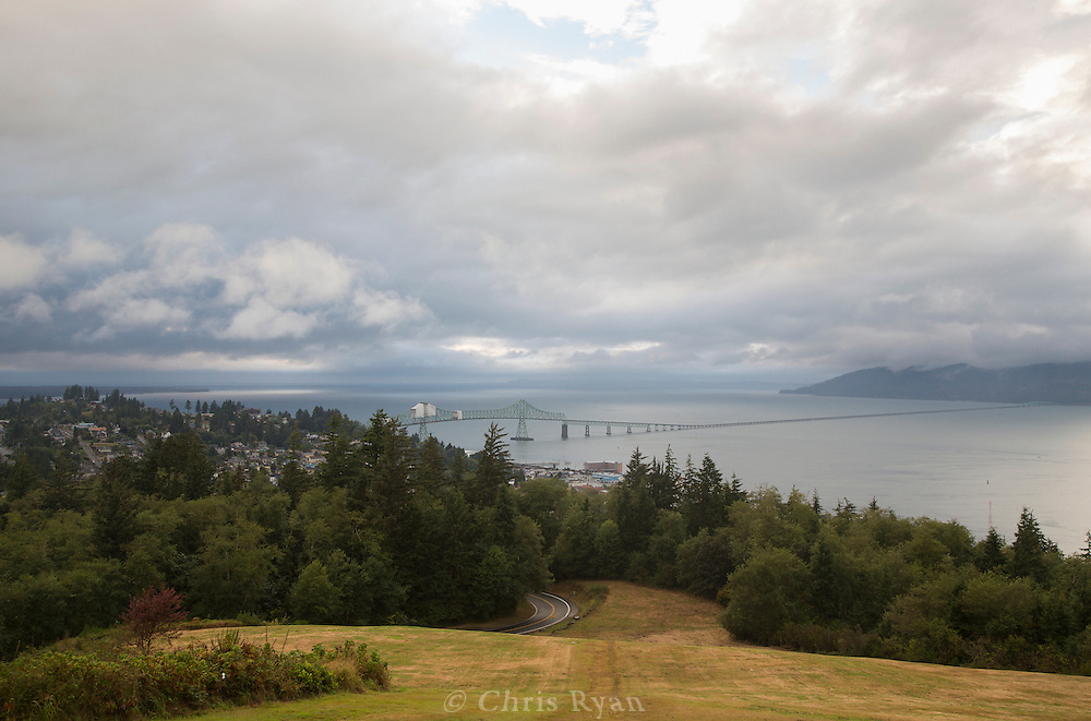 Astoria-Megler Bridge across the Columbia River, Oregon