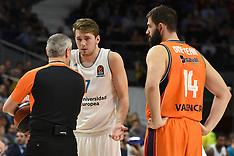 Real Madrid vs Valencia Basket - 19 Dec 2017