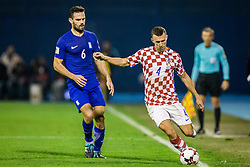 Ivan Perisic of Croatia during the football match between National teams of Croatia and Greece in First leg of Playoff Round of European Qualifiers for the FIFA World Cup Russia 2018, on November 9, 2017 in Stadion Maksimir, Zagreb, Croatia. Photo by Ziga Zupan / Sportida