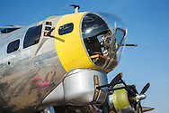 Chuckie the Boeing B17 from Tillamook Air Museum at the Airshow of the Cascades.